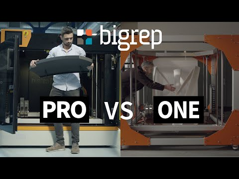 3D Printing Faster with the BigRep PRO - MXT versus FFF