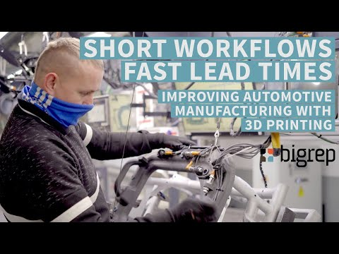 Automotive 3D Printing - Improving Factory Workflows with Custom-Fit Jigs and Fixtures
