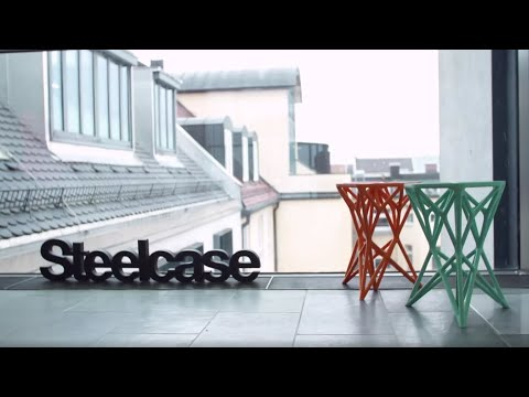 Steelcase 3D Printing Furniture Prototypes