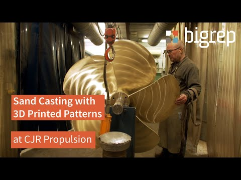 3D Printed Patterns and Molds for Sand Casting