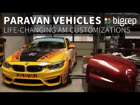 Paravan 3D Printing Car Parts for Disability Vehicles with the BigRep ONE