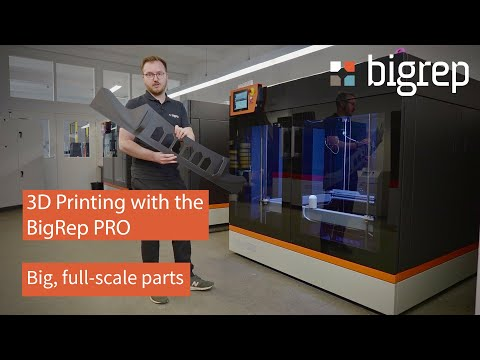 3D Printing with the BigRep PRO