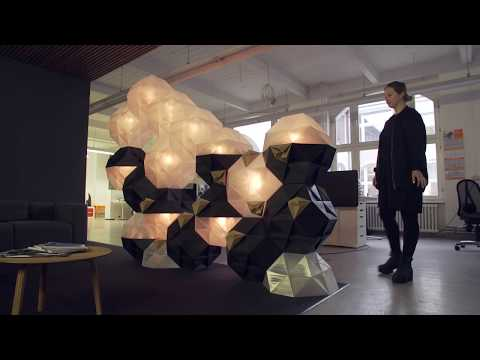 The 3D Printed Modular Wall, a Project by NOWLAB