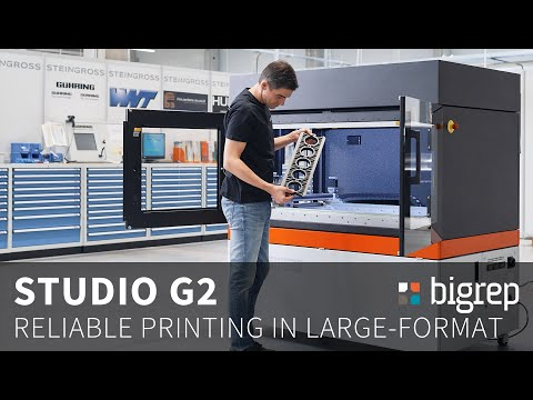 BigRep STUDIO G2 - A Large-Format Solution for Industrial Applications