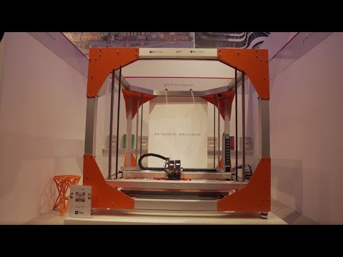 BigRep at EXPO REAL 2016: Live 3D Printing Architectural Model