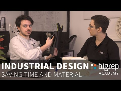 How to 3D Print: Design for Large-Format - Saving Material on Big 3D Prints - BigRep Academy