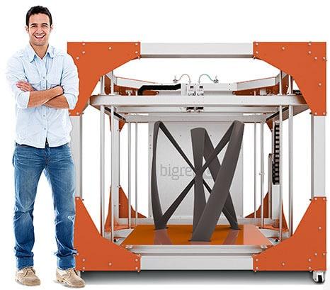 BigRep ONE Industrial 3D Printing