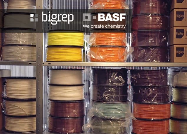 BigRep & BASF agreement