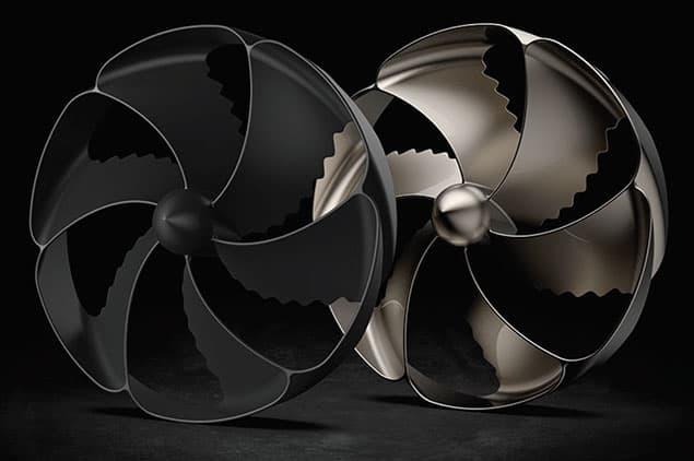 3d printed bionic propeller by bigrep