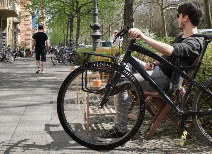 3D Printed Airless Bicycles Tire