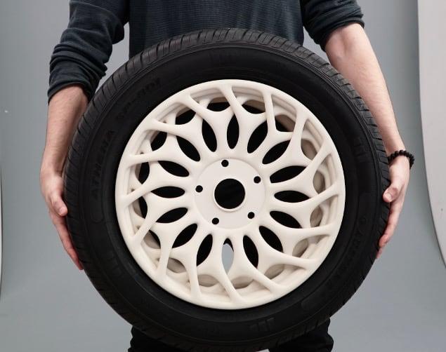 3D Printed wheel rim