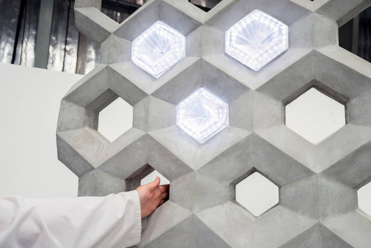 Construction with 3D Printing - A smart concrete wall