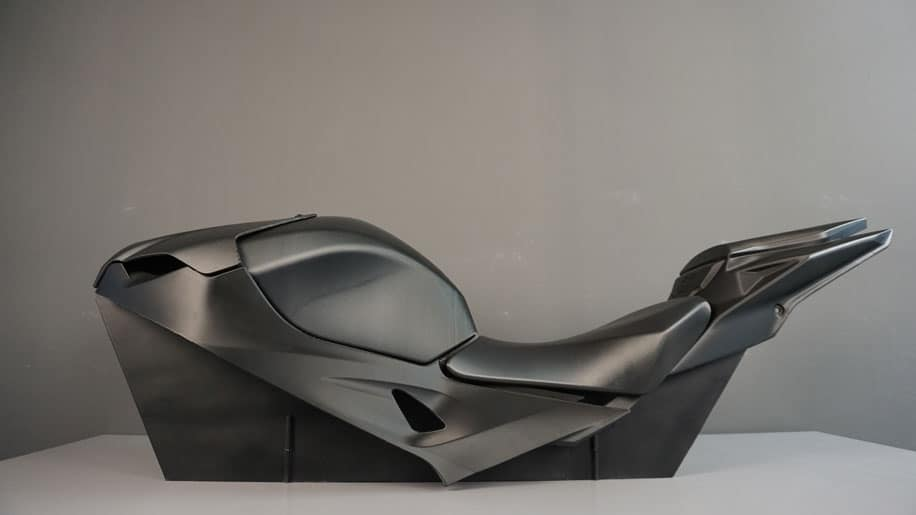 BMW motorcycle tank and seat