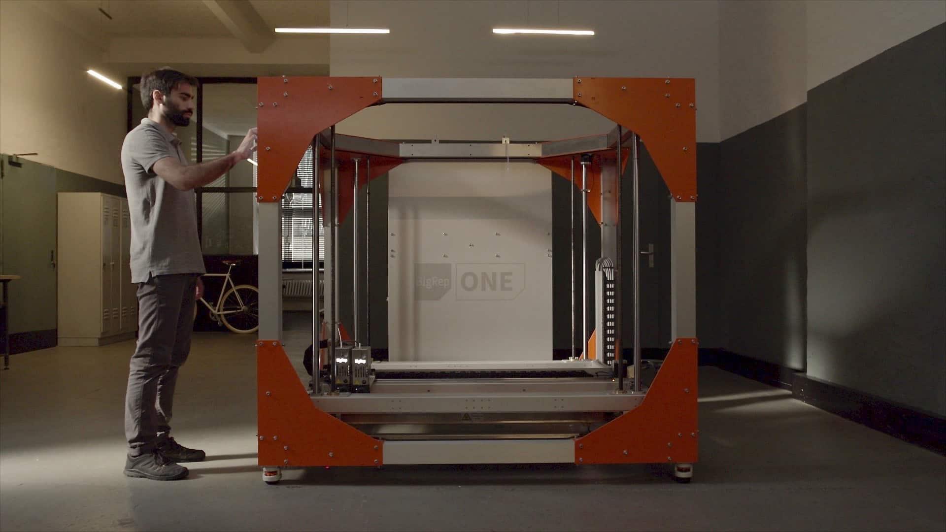 BigRep ONE, GroßraumFDM-Drucker