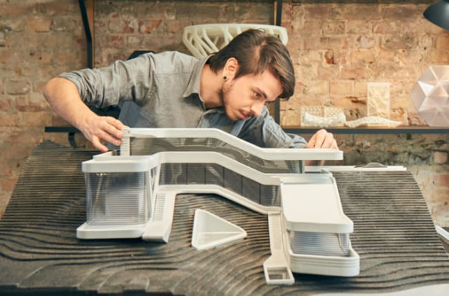 Large Architectural Model 3D Printed in Only 11 Days