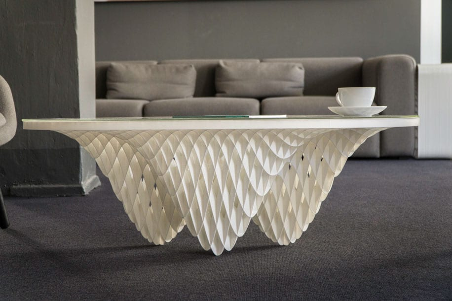 BigRep designed coffee table