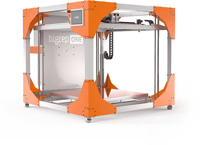 The BigRep ONE - Large-scale market leader 3D printer