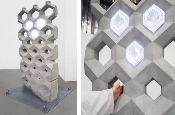 Smart Concrete Wall By NOWlab@BigRep
