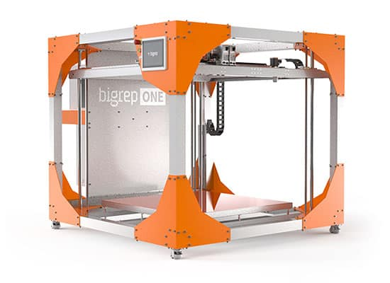 The BigRep ONE - Large Scale 3D Printers made in Gemany