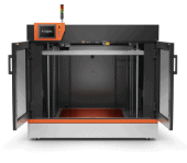 Industrial 3D Printer - The build platform