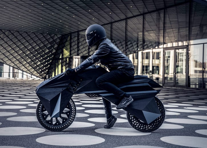 E-Motorbike - Additive Manufacturing Applications