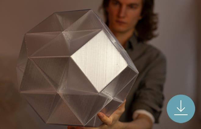 WE 3D PRINTED A SENSOR WITH CONDUCTIVE MATERIALS