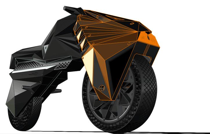 3d printed e-bike