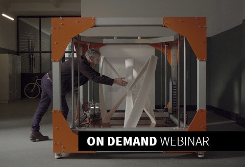 Webinar: Large Scale 3D Printing: Realizing Value from Design to Production