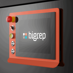 BigRep STUDIO 3D Drucker Touchscreen