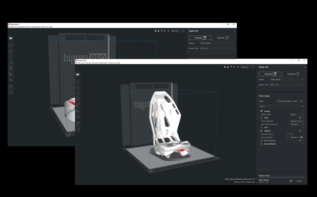 Blade Slicer für Industrie-3D-Druck