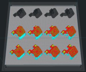 3D Slicer Software: Mehrere gleiche Teile auf einmal drucken