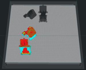 3D Slicer Software: Mehrere Teile gleichzeitig drucken