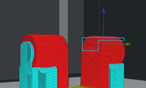 3D Slicer: Support Blocker Ansicht