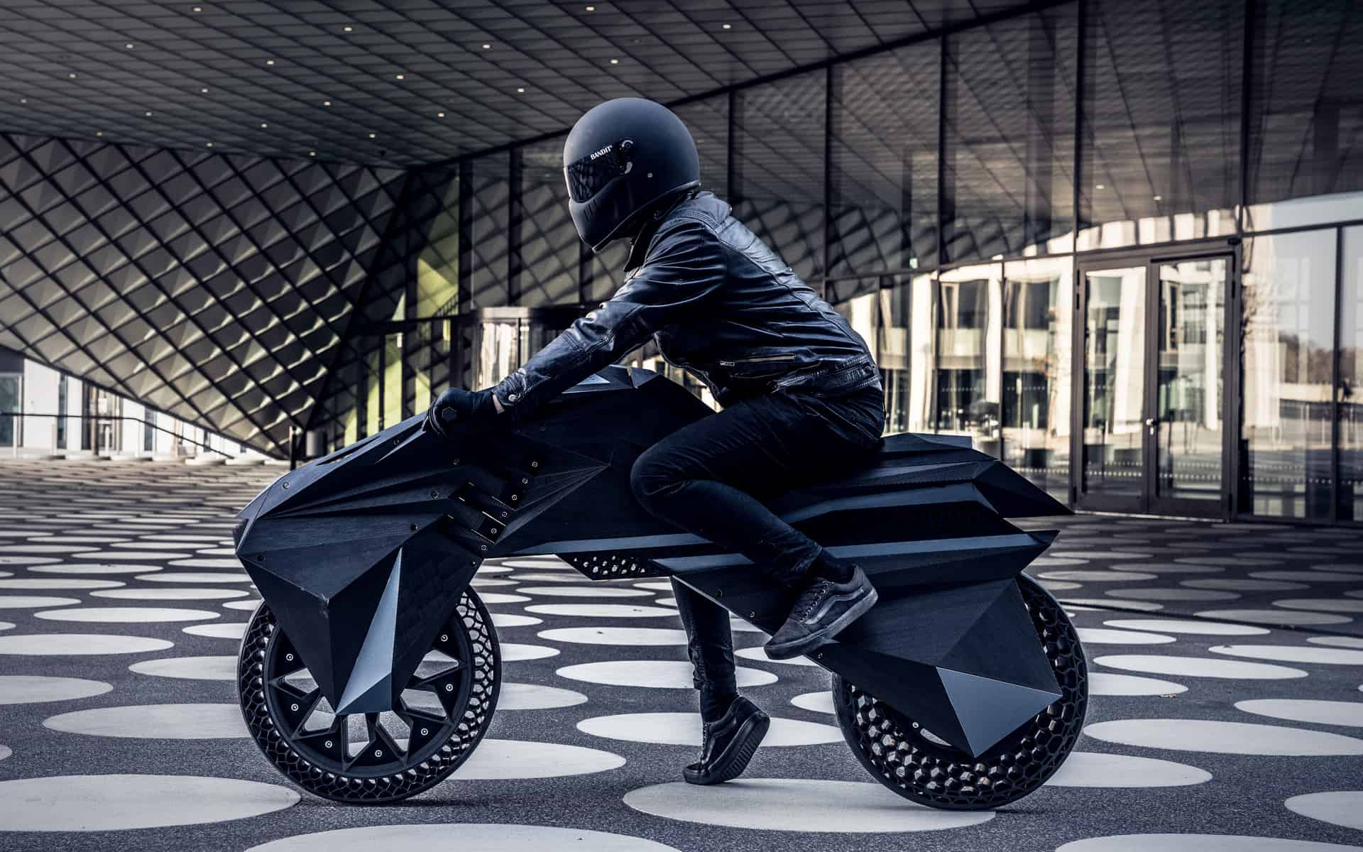 3D-Drucker produziert E-Motorrad