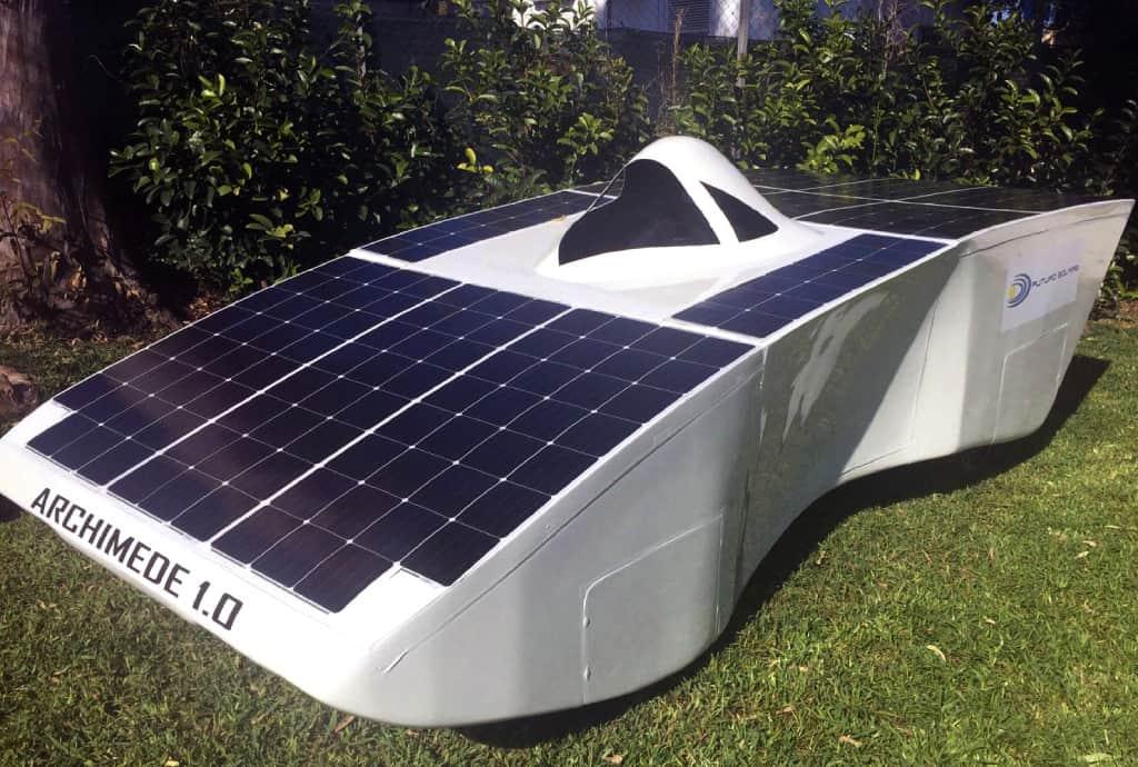 3D Printed Car Parts: Solar Race Car