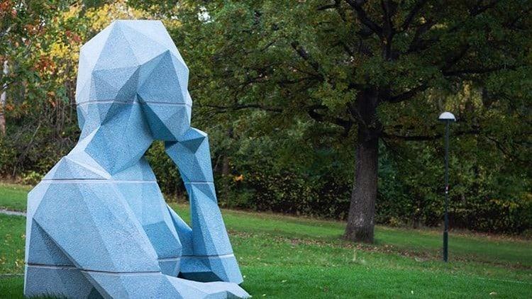 Concrete Formwork Sculpture 3D Print