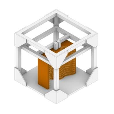 How to Make Concrete Forms 3D Print Step 1