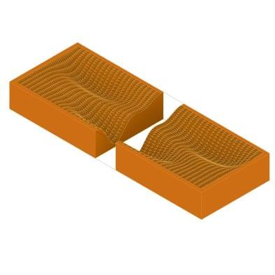 How to Make Concrete Forms 3D Print Step 2