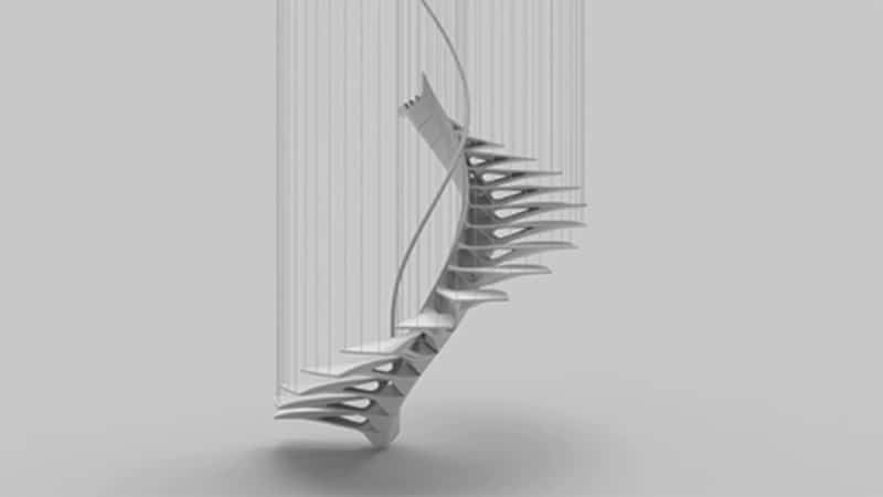 Concrete Formwork Stairs 3D Print