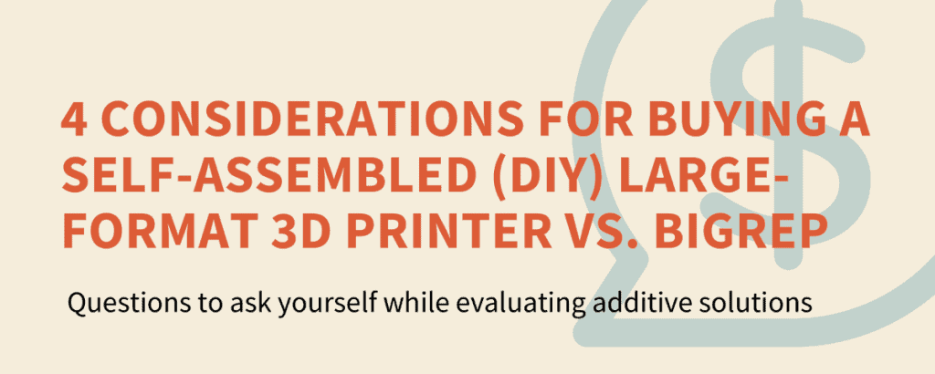Industrial 3D Printer vs Self-Assembled / DIY