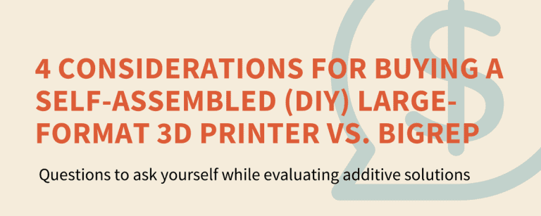 Industrial 3D Printer vs Self-Assembled / DIY