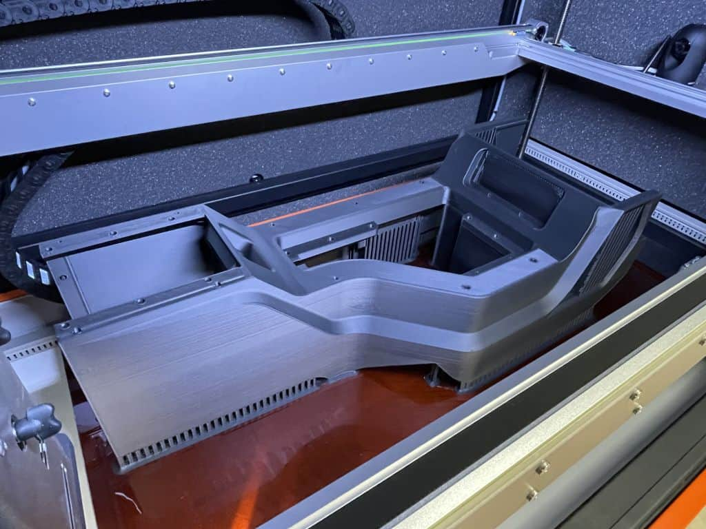 Car Center Console in Large 3D Printer