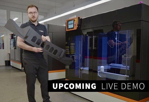 Upcoming BigRep live Virtual Demo