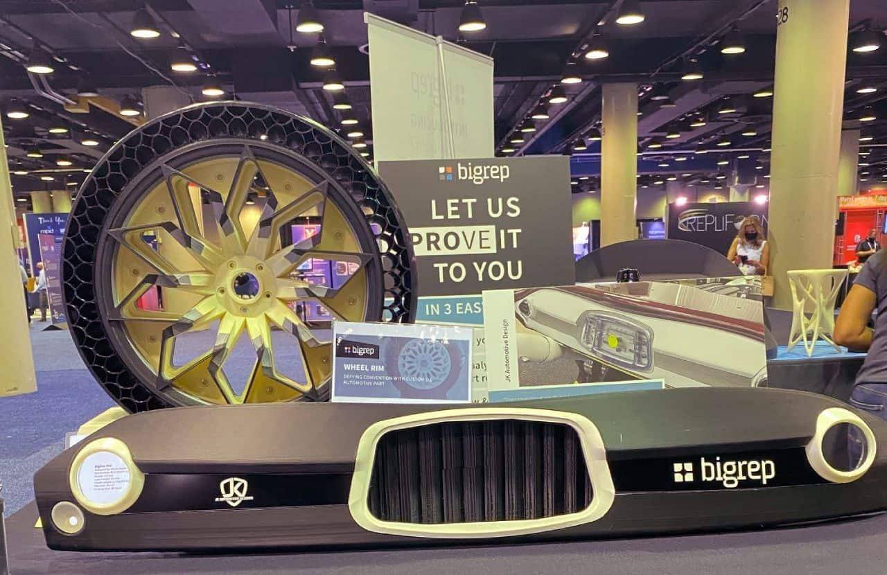 3D Printed Car Dashboard