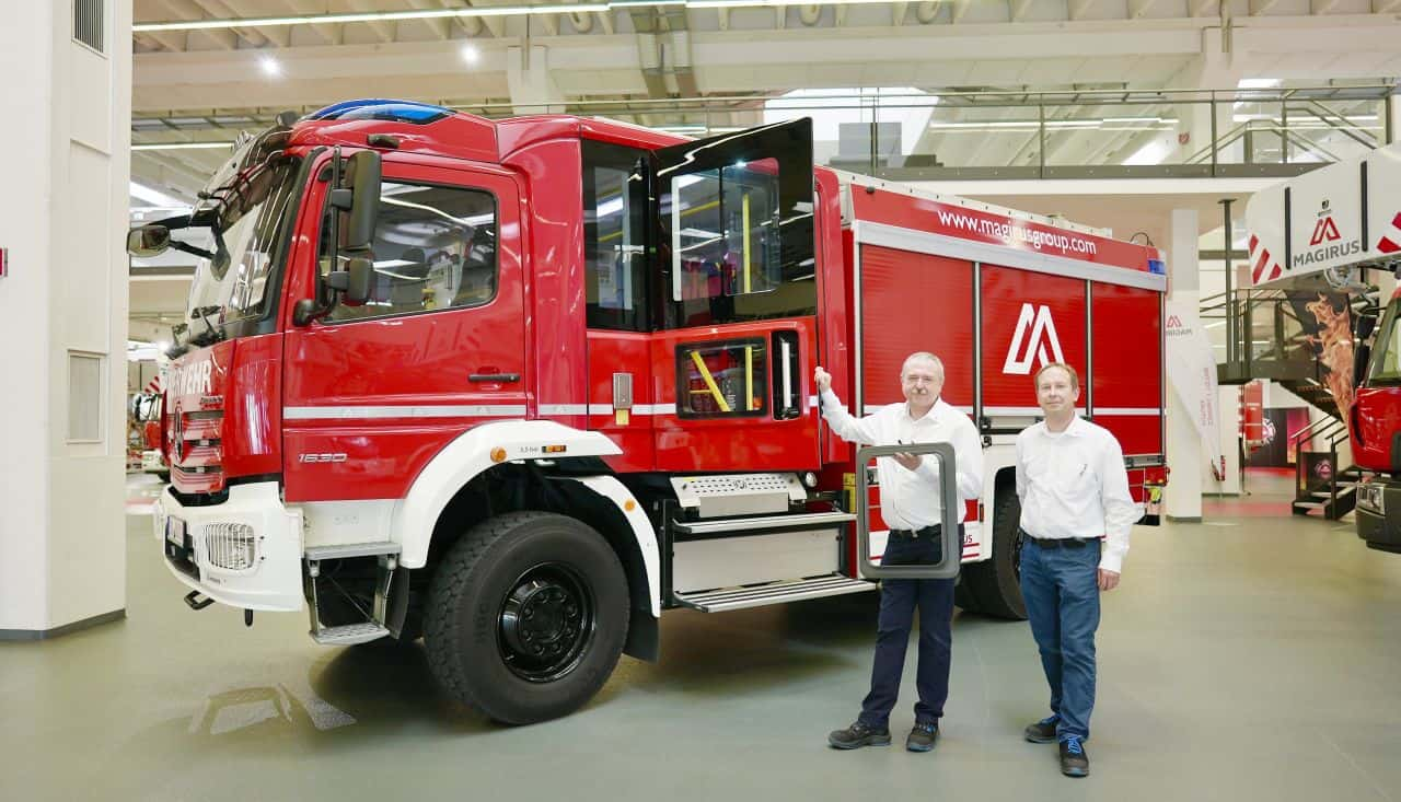 3D Printing Fire Engine Manufacturing