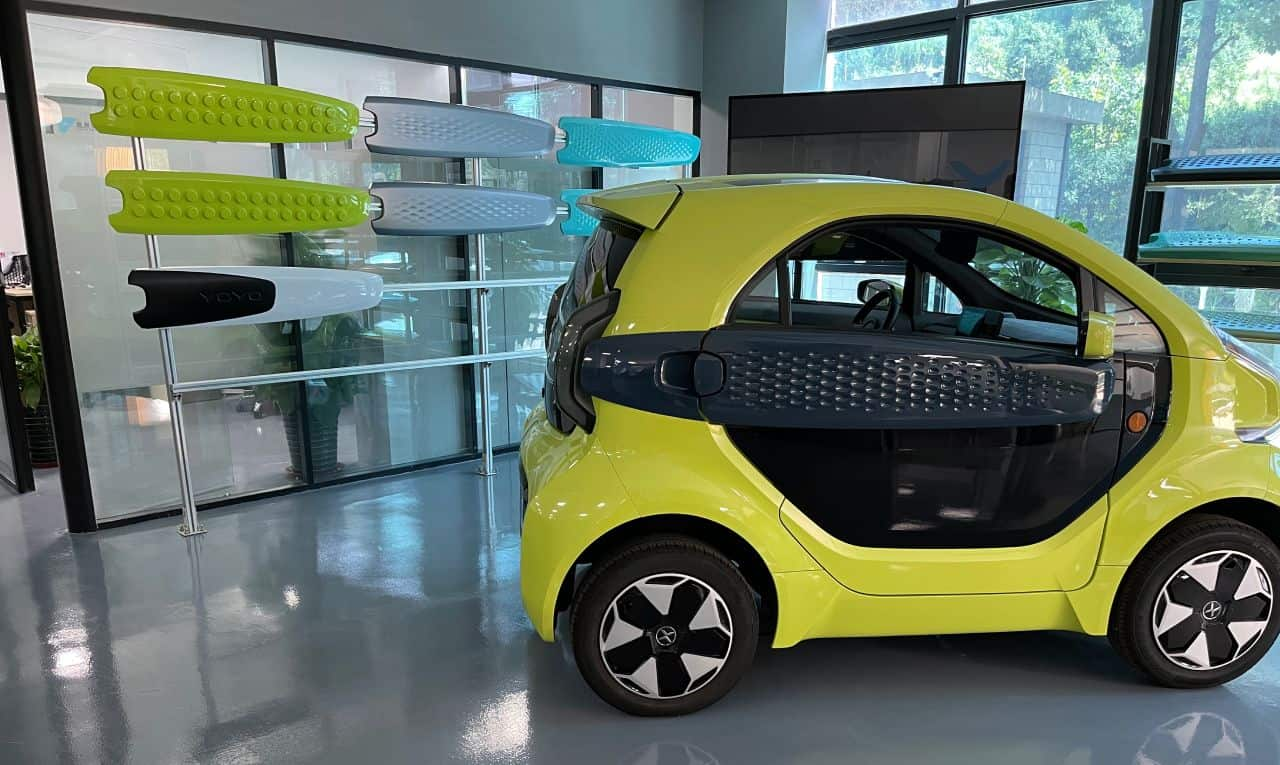 3D Printed Parts for Electric Vehicles