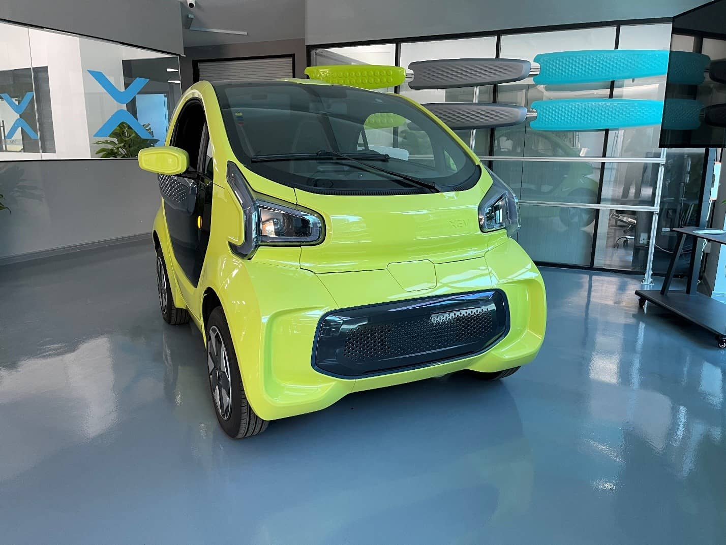 X-EV Electric Car Customization with Large 3D Printer